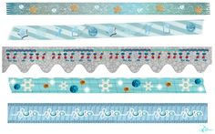 Hearts & Wings by Shireece: Washi tape d'hiver