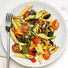 Penne With Mixed Grilled Vegetables.  | Health.com