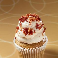 Maple bacon cupcake from Gigi's cupcakes.