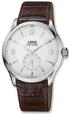 Oris Artelier Hand Winding, Small Second 39675804051LS