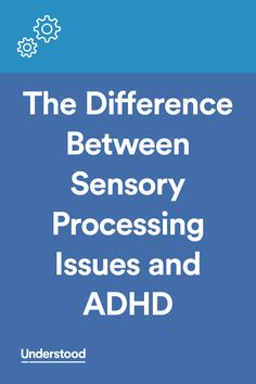 ADHD and sensory processing issues can look similar in children. Learn the differences between sensory processing and ADHD, including signs and how professionals can help. Dyslexia Activities, Dyslexia Strategies, Dyslexia Teaching, Learning Disabilities, Teaching Tips, Educational Activities, Teaching Reading, Dyscalculia, Dysgraphia Symptoms