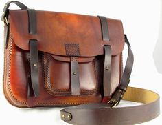 Handmade leather bags MXS