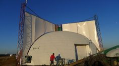 Experimenting with Wind Energy at The Monolithic Dome Institute