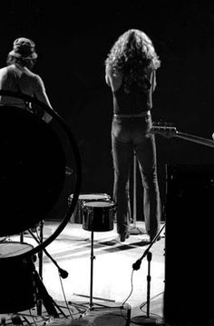 Jimmy Page and Robert Plant of LedZeppelin