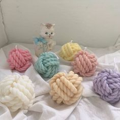 Cute Candles, Best Candles, Soy Wax Candles, Candle Wax, Scented Candles, Pillar Candles, Candels, Marble Candle, Yarn Ball
