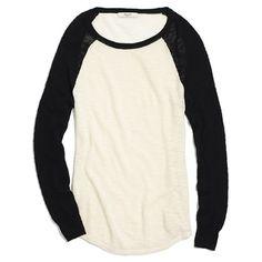 baseball sweater / madewell