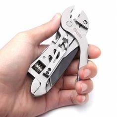 Piranha Multi-functional Wrench Jaw Screwdriver Pliers Knife Tools Sale-Banggood.com