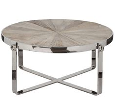 Beckett Coffee Table. I'd love it more if the metal was matte