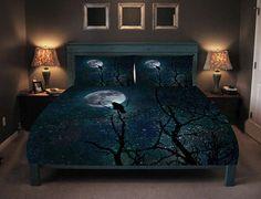 Gothic Bedding Comforter or Duvet Cover Raven Crow Tree Unique Duvet Covers, Best Duvet Covers, Luxury Duvet Covers, Cover Pillow, Blanket Cover, Best Bedding Sets, Luxury Bedding Sets, Modern Bedding, Unique Bedding