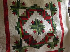 Christmas Wreath Beautifully Quilted By Charisma Dečky Deky Patchwork A V 225 Noce