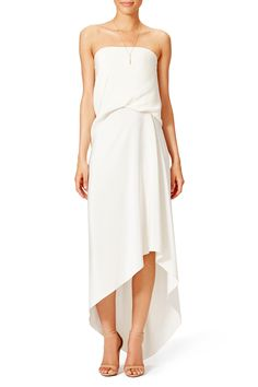 Rent Draped Gown by Cedric Charlier for $250 only at Rent the Runway.