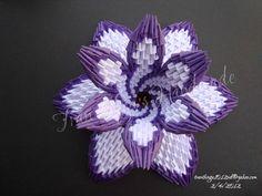 3d origami daffodil by Nga1012