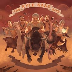 SPV GmbH / Steamhammer => Kyle Gass Band announce European Tour 2017!   The Kyle Gass Band continues touring Europe in 2017! Heavily armed with a bunch of songs from their current album 'Thundering Herd' the band will continue their European tour this time visiting Germany, Austria, Italy, France, UK, Czech Republic, Poland and the Netherlands.   The supergroup from Los Angeles certainly earned their 'Road Chops' playing more than 100 shows on the continent in the past years alone and go big…