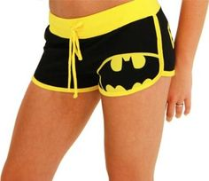 Amazon.com: DC Comics Batman Booty Shorts: Clothing
