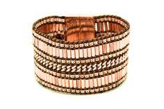 Bracelet aimanté Cheyenne  or rose