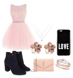 """""""Party set"""" by maribeltheflower on Polyvore featuring Monsoon, Yves Saint Laurent, Givenchy and Allurez"""