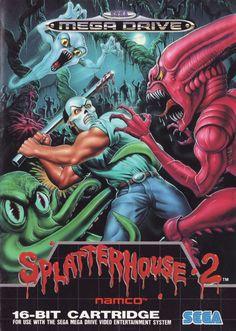 Splatterhouse 2 - Mega Drive / Genesis Front Cover
