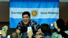 """Diego Maradona le apuntó a Marcelo Tinelli: """"La AFA le queda grande""""                              Diego Armando Maradona advirtió hoy sobre una posible sanción del presidente de la FIFA, Gianni Infantino, a la AFA, de... http://sientemendoza.com/2016/12/22/diego-maradona-le-apunto-a-marcelo-tinelli-la-afa-le-queda-grande/"""
