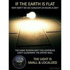 Understanding the atmosphere is key.  The earth has many tricks up her sleeve and humans are at a point where rediscovering earth is an awakening of letting go of all we are being told. Education is TAUGHT by people who are TAUGHT by others who demand what we are to be TAUGHT. Flat Earth Fun If you don't go experience it yourself and do your own research...  You are told everything you know. Think about that!