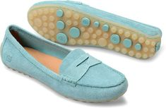 Womens MALENA in Pool Suede #wewearborn #bornshoes