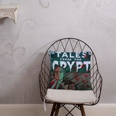 Tales from the Crypt Phantasm Pillow Tales From The Crypt, Afternoon Nap, Pillow Fight, Hanging Chair, Shapes, Pillows, Home Decor, Hammock Chair, Cushion