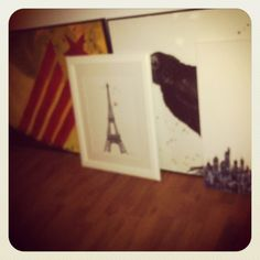 Alguns dels meus quadres!  Some of my artwork!