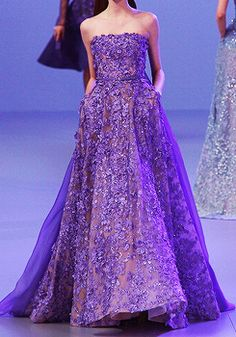 Elie Saab Paris Fashion Week 2014 - this collection is just killing me, so pretty!