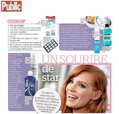 """BeconfiDent's Duo Mousse in the French magazine """"Public"""" in January 2015"""