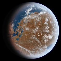 Mars Once had more Water than the Earth's Arctic Ocean, NASA Say Mega Tsunami, Mission Mars, Meteor Impact, Water On Mars, Curiosity Rover, Red Planet, Life On Mars, Study Space, Mars