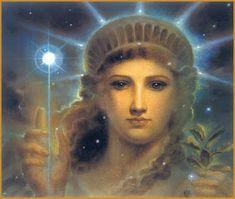 Millenium Liberty by Kinuko Y. Fantasy Literature, Fantasy Authors, History Of Illustration, Ancient Mysteries, Ancient Greece, Archetypes, Fantasy Art, Book Art, Liberty