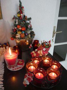 Sapin et bougies