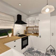 Luxury Kitchen Design, Kitchen Room Design, Home Decor Kitchen, Kitchen Interior, Home Interior Design, Home Kitchens, Küchen Design, House Design, Design Case