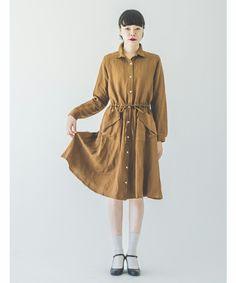 LINEN SH DRESS #SINDEE #Kanoco #fashion