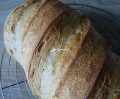 Burgonyás rozsos kovászos kenyér | Betty hobbi konyhája Paleo, Bread, Food, Brot, Essen, Beach Wrap, Baking, Meals, Breads