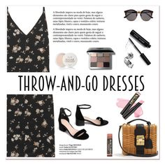 """Easy Outfitting: Throw-and-Go Dresses"" by tamara-40 ❤ liked on Polyvore featuring Golden Goose, Illesteva, Fresh, Bobbi Brown Cosmetics, L.A. Girl, dress and easydresses"