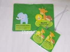 Kit viagem - Safari baby  :: flavoli.net - Papelaria Personalizada :: Contato: (21) 98-836-0113 - Também no WhatsApp! vendas@flavoli.net 98, Safari, Travel Kits, Personalized Stationery