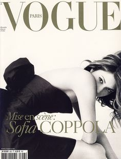 december, 2004 model: sofia coppola photographer: mario testino