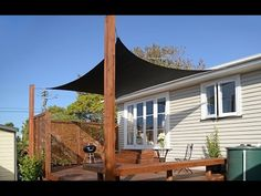 How to Put Up a Shade Sail | Mitre 10 Easy As - YouTube