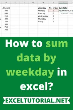 If you want to calculate the sum total of your earnings or expenditure or anything like that in reference to the weekday, here's what you can do: Microsoft Excel, Microsoft Office, Excel Calendar, Computer Basics, Skills To Learn, What You Can Do, Adulting, Business Ideas, Techno