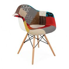 chaise patchwork eames 139 - Chaise Eleven Patchwork Colors