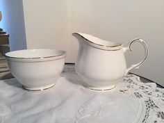 duchess ascot tea set milk jug and sugar bowl in Pottery, Porcelain & Glass…
