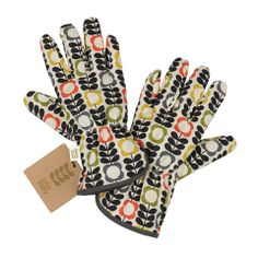 Orla Kiely Garden Potting Gloves by Wild and Wolf Quirky Gifts, Unique Gifts, Gifts For Girls, Gifts For Mom, Flamingo Gifts, Thing 1, Wild Wolf, Water Features In The Garden, Presents For Men