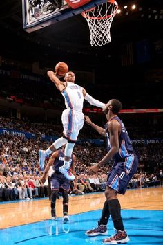 Russel Westbrook - OKC Thunder, Weiner, but he can fly