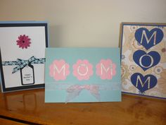 Simple beautiful mothers day cards