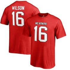 Russell Wilson NC State Wolfpack Fanatics Branded Youth College Legends Name & Number T-Shirt - Red - $27.99