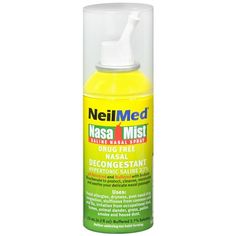 Feeling a little stuffy? Try NasaMist to soften and loosen mucus for only $6.71.
