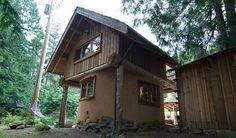 Little Cob House Back