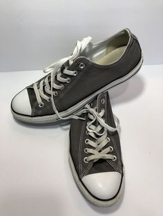 28b3160cc65 Converse All Star Gray Canvas Unisex Sneakers Size Mens US 10 Womens US 12   fashion  clothing  shoes  accessories  unisexclothingshoesaccs   unisexadultshoes ...