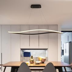 Leaf Shape Matte Black Hanging Pendant Lights For Dining Room Kitchen Room Home Deco White Finish Pendant Lamp Fixture – Fixtures 2020 Dinning Room Light Fixture, Modern Dining Room Lighting, Interior Lighting, Modern Lighting, Led Kitchen Lighting, Dinning Room Lights, Led Pendant Lights, Modern Pendant Light, Pendant Lamp