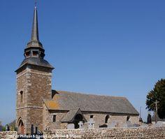 Église St-Louis, à Tréguenestre-en-Meslin. Saint Jean Baptiste, Saint Martin, Chapelle, St Louis, France, Catholic, French